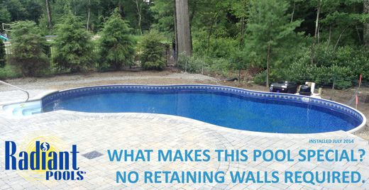 Swimming Retaining Walls And Ground Pools On Pinterest