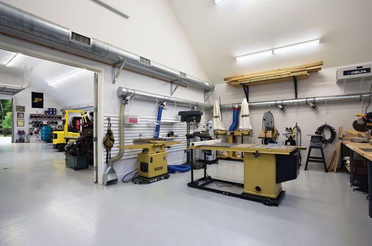 114 best woodworking shop plans images on pinterest garage ideas garages and organization ideas for Design your own garage workshop