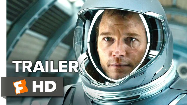 Passengers Trailer 1 - J-Law & Chris Pratt suck face and survive in space.