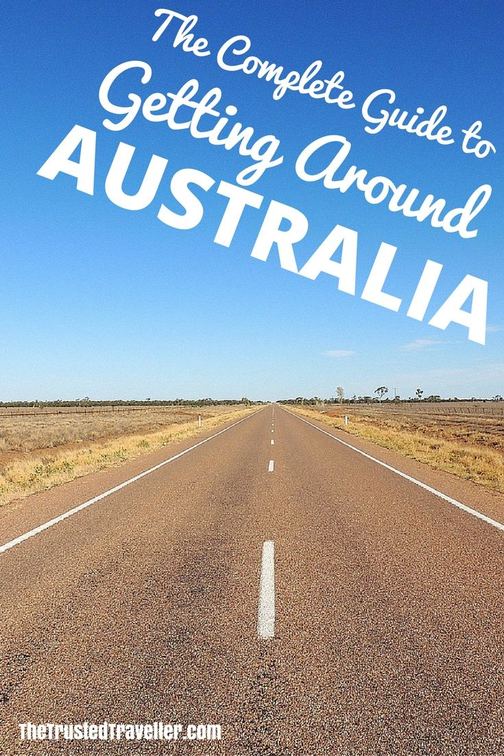 A Complete Guide to Getting Around Australia