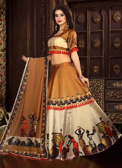 73b78f0b63 Designer Tapeta Silk Digital Prints Party Wear Lehenga Choli Wholesale  Collection 8114 #lehenga #clothing #shopping #wholesale