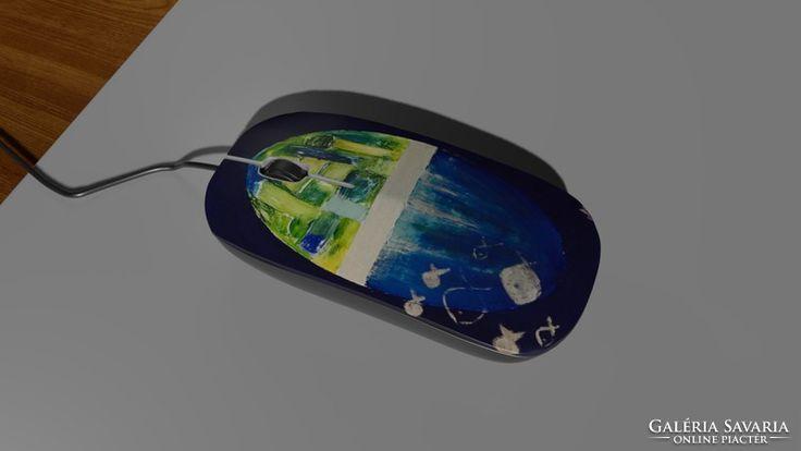 Computer mouse,mice - festménnyel számítógépes egér 11.