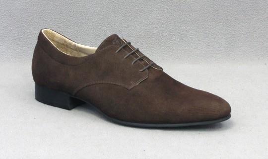 Замшевые коричневые мужские ботинки