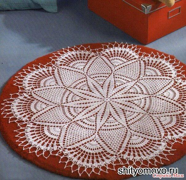 Teje al crochet 3 fantásticas carpetas redondas al crochet
