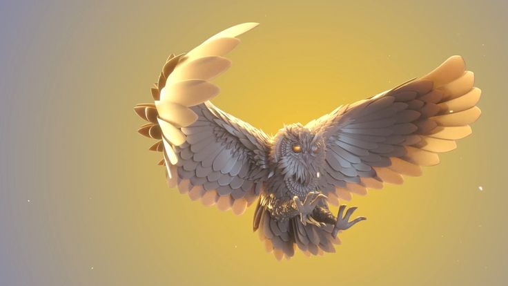 In this self initiated project Mitsi was capturing the movement of a Owl catching its prey. Modeled in Cinema 4D, rendered with Octane and Post production in After Effects.