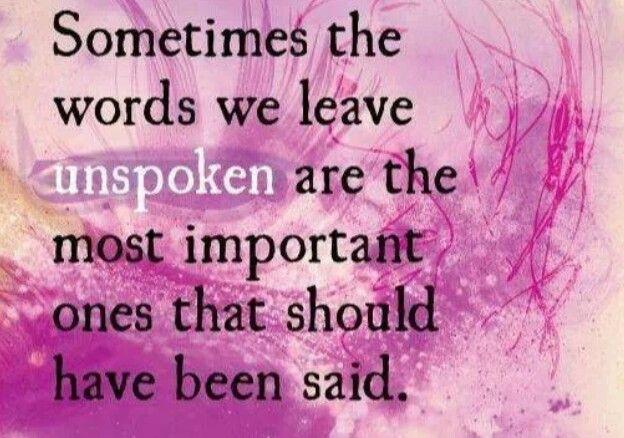 Better Left Un Said Quotes Quotesgram: Unspoken Quotes. QuotesGram