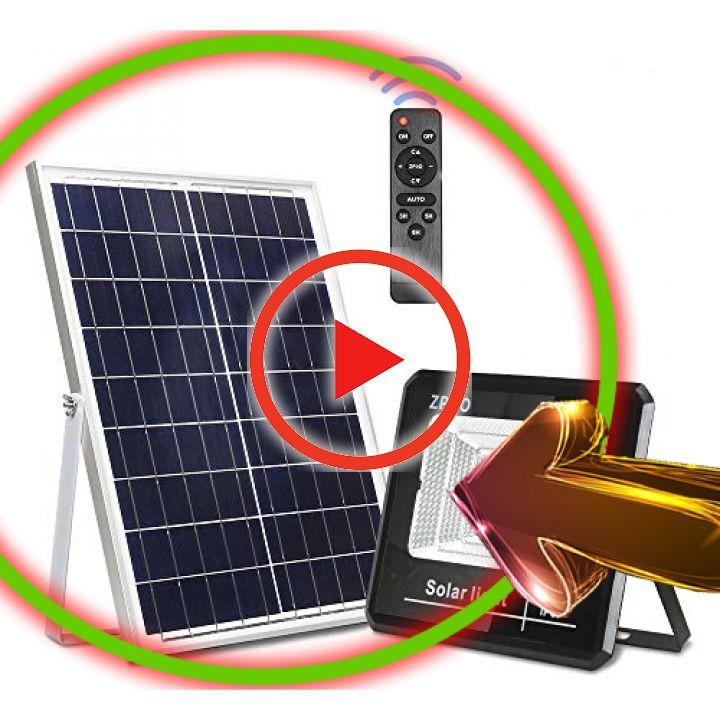 Pin En Outdoor Led Flood Solar Light Waterproof