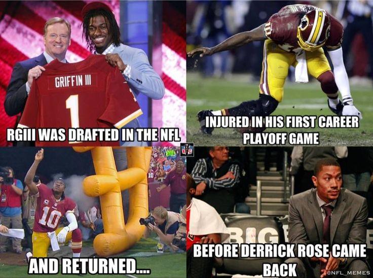 RG3 & Derrick Rose meme