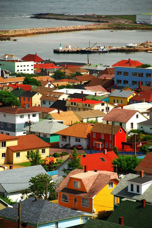 St. Pierre et Miquelon | France (by Gord McKenna)  The Territorial Collectivity of Saint Pierre and Miquelon is a group of small French islands in the south of Newfoundland & Labrador, Canada. The islands are as close as 25 kilometres (16 mi) from Newfoundland.