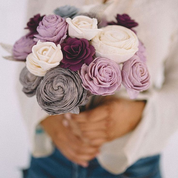 Eco flower bouquets, made from wood and sustainable materials!