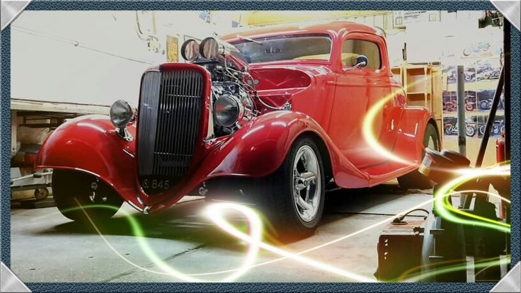 1934 FORD 3 WINDOW COUPE  UK