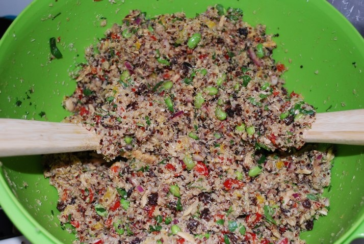 California Quinoa Salad - Whole Foods Copycat Recipe by Kid Tested Firefighter Approved