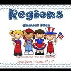 Regions ~ Social Studies Annual Plans for 3rd & 4th. Multigrade aligned with the NAD SDA Standards.  Editable and ready to use for unit and dai...