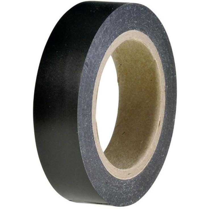 Isolierband HellermannTyton HelaTape Flex 15 Schwarz (L x B) 10 m x 15 mm Inhalt: 1 Rolle(n)