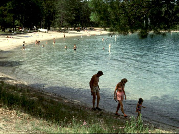 Clear Lake Beach at Clear Lake State Park in Atlanta Michigan, My favorite place growing up!