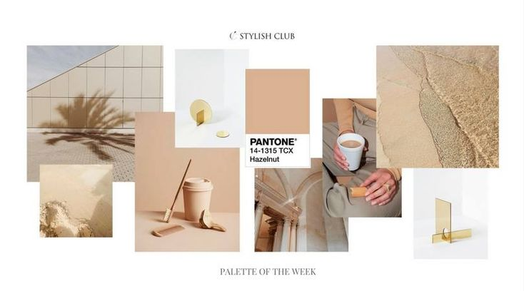 It's Wednesday and as we said - on Wednesdays we share the pallete of the week. This week it is the color which Pantone has named Hazelnut. It already brings cozy, warm feelings. We are inspired by this color and the inspirations that we found. That sense of elegance comes suddenly and it creates the perfect choice for your design solutions.