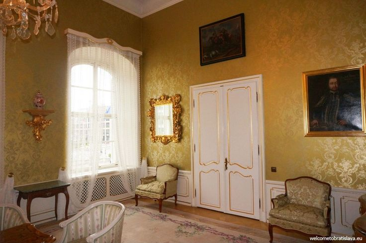 OPEN DOOR AT THE PRESIDENTIAL PALACE - The Golden Salon