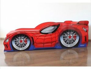 Pat copii Spider Man Car -