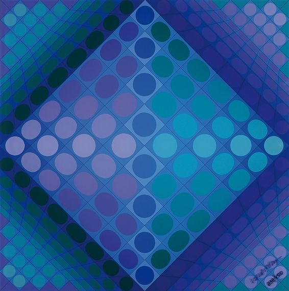 Chess Board - Victor Vasarely