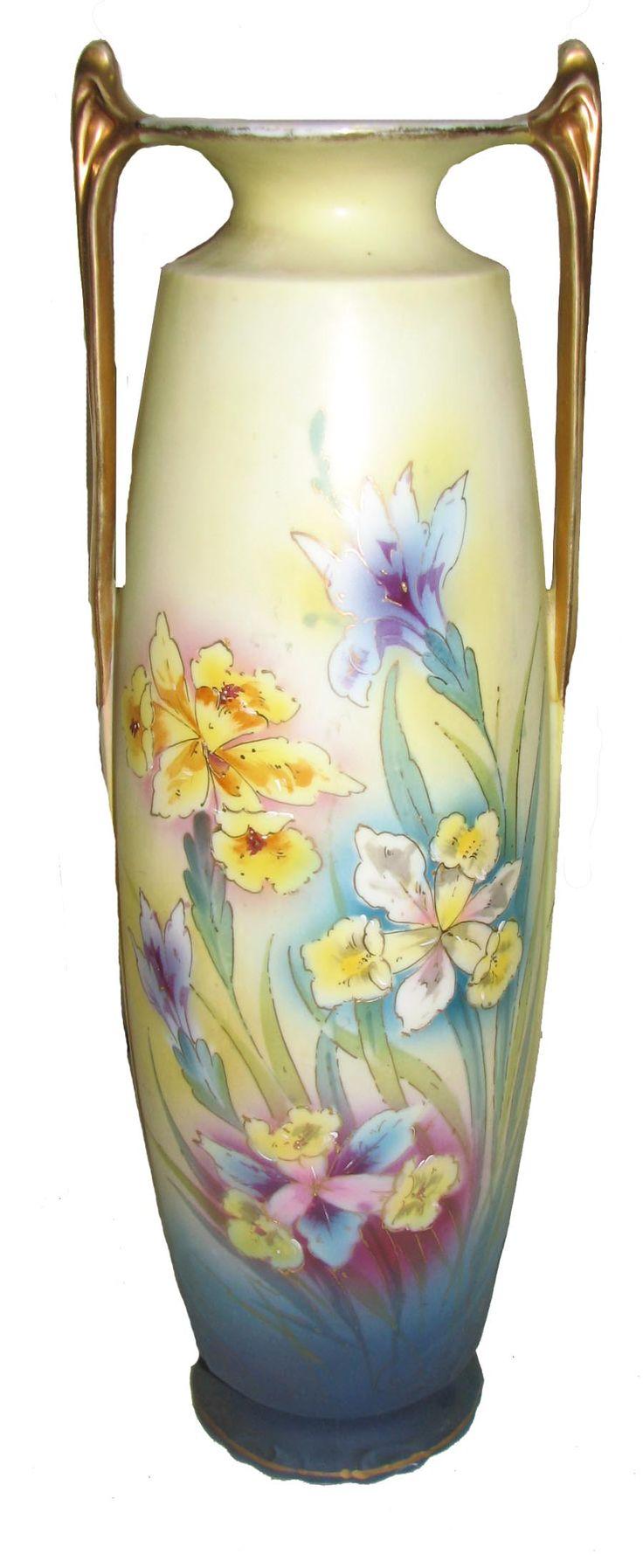 Hand Painted Porcelain Vase Ceramic Painting Porcelain