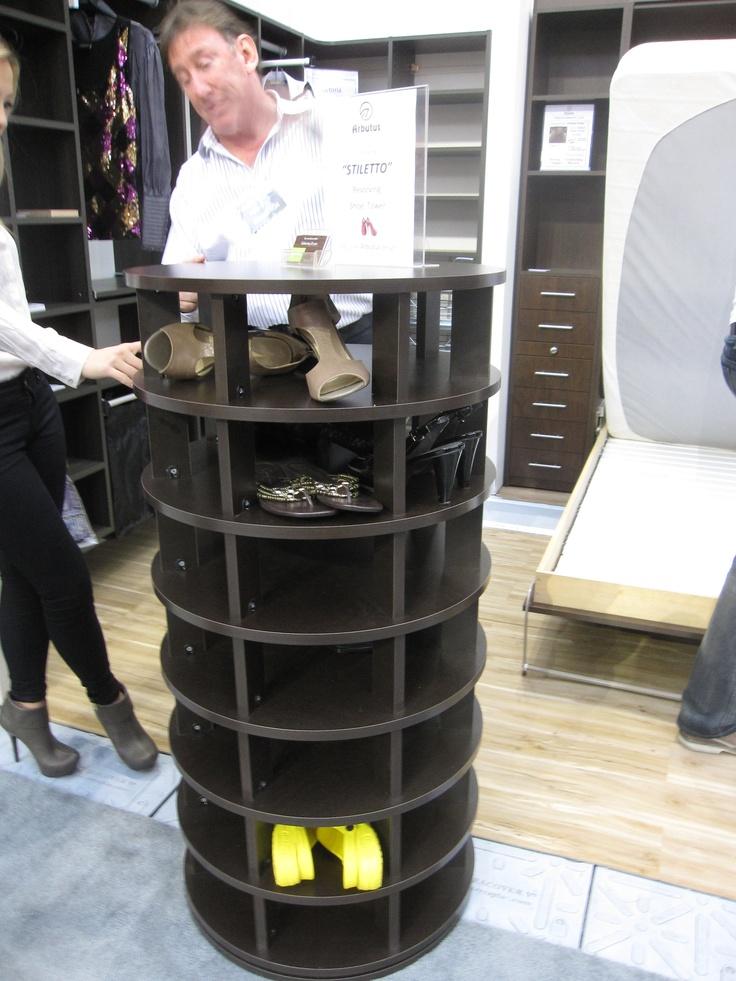 Revolving Shoe Organizer Part - 19: Arbutus Furniture Arbutus.com Revolving Shoe Rack Potentially Houses 49  Pairs?? 24.5 Inches