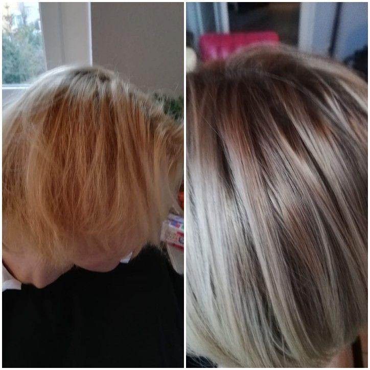 Vorher Nachher In 2020 Haarschnitte Fur Feines Haar Frisuren