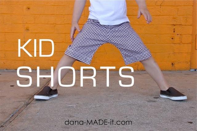 Kid Shorts - free pattern