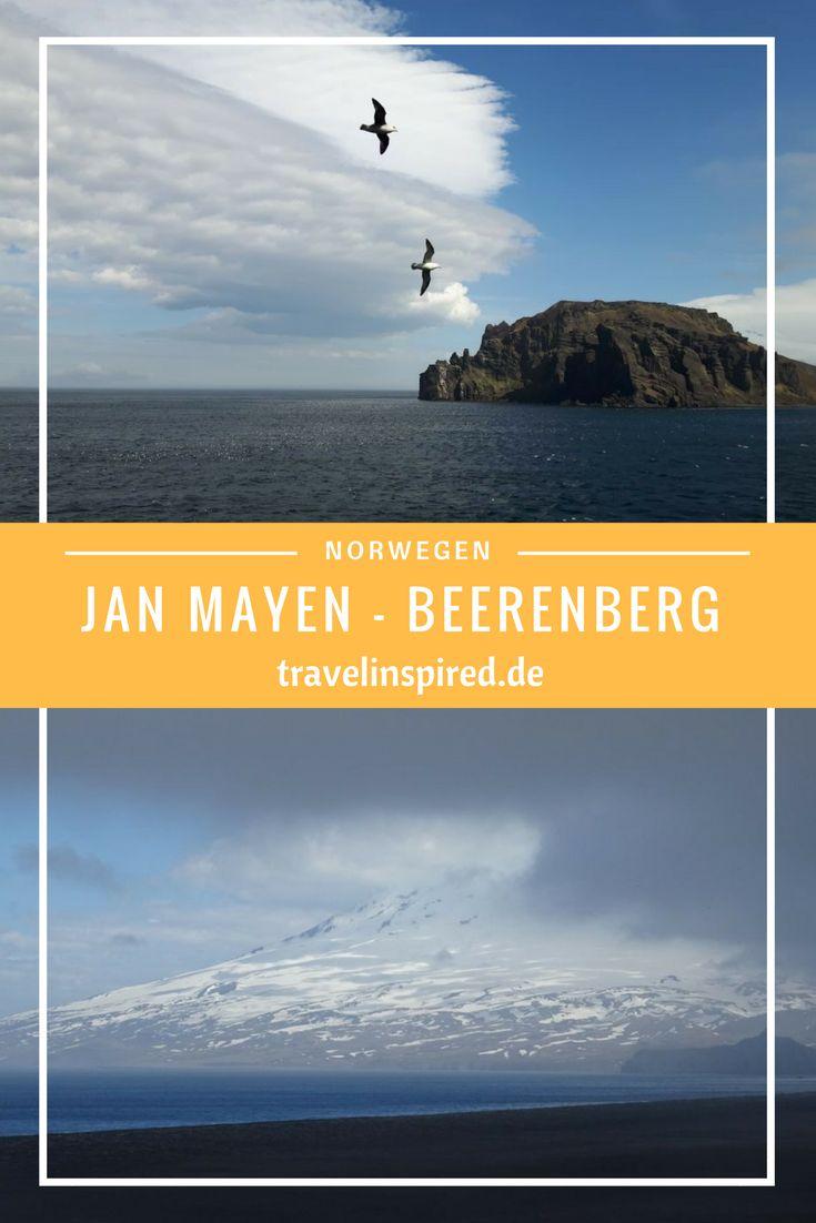 Kennst du Jan Mayen? Wir haben die abgelegene Insel im Nordatlantik diesen Sommer auf einer Expedtitions-Seereise besucht. Auf Jan Mayen gibt es eine Forschungsstation, jede Menge Seevögel und den alles überragenden Vulkan Beerenberg. Mehr Infos und Fotos zu Jan Mayen findest du auf Travelinspired.de! #norwegen #janmayen #atlantik #seevögel