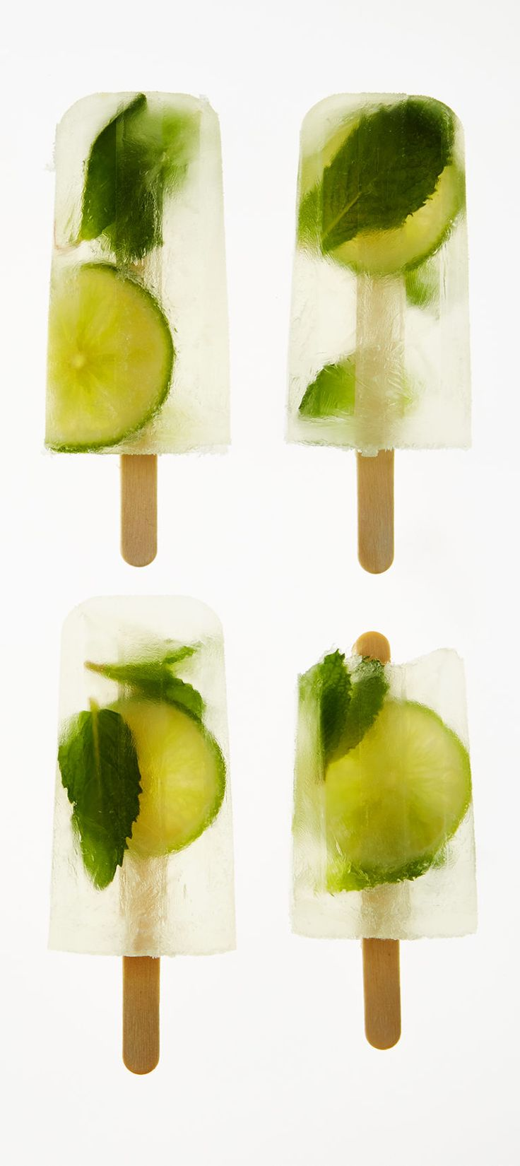 The lime-mint gimlet ice pop / because choosing between a cocktail and a popsicle is a decision no one should ever have to make, now on the #AnthroBlog