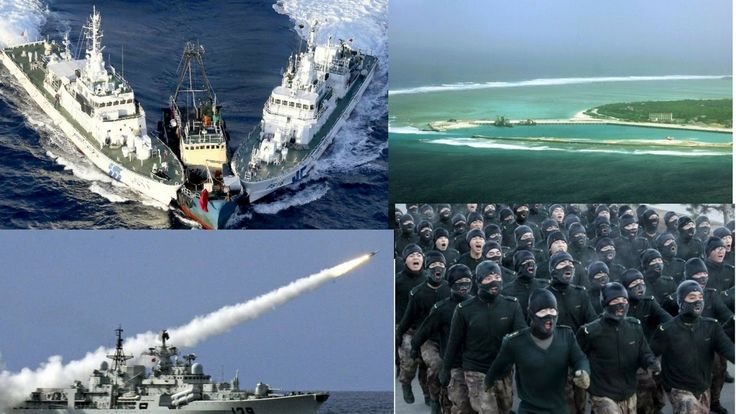 Armed Clash in the South China Sea  I News Today 2017
