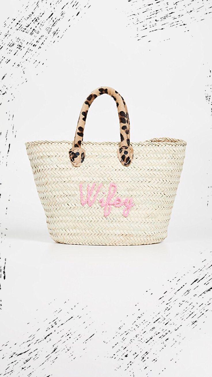 "Le Superette Wild ""Wifey"" Bag Bags, Best beach bag, Pool"