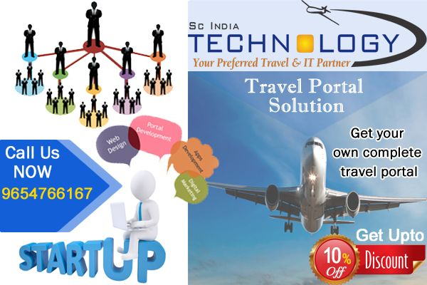 Get your travel agency portal online today!! Call Us Now - 9654766167 or visit us - http://www.travelportalsolution.com