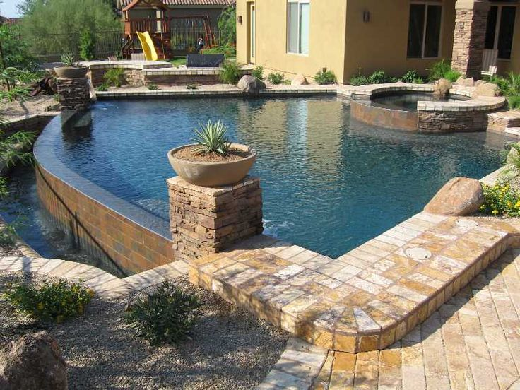 108 Best Images About Pool Patio Designs On Pinterest Grey Backyards And Pool And Patio