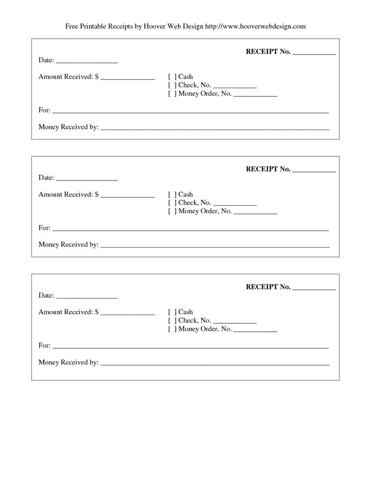 27 best Forms images on Pinterest Resume templates, Free stencils - money receipt design