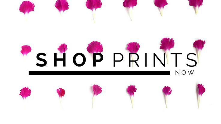 Deconstructing Flora Art Prints - www.sarahblythe.com