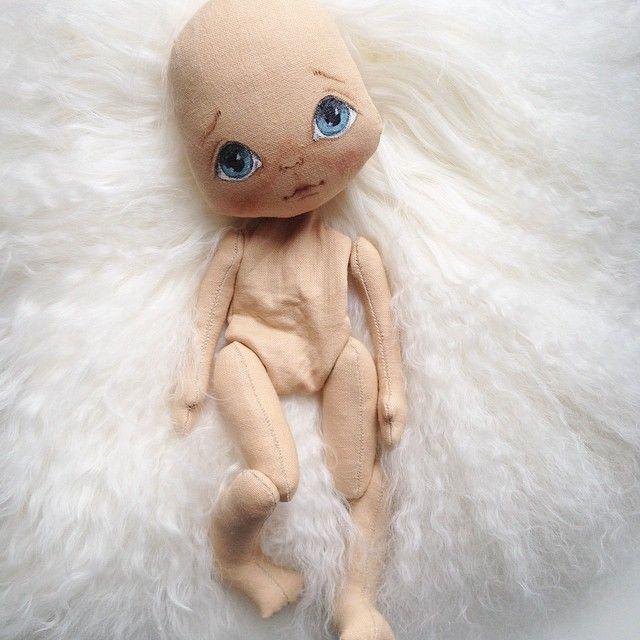 Процесс рождения #куклаолли #кукла #куколка #doll #dolls #artdoll #textilldoll