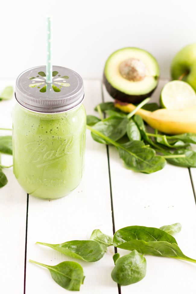 haseimglueck.de Rezept, Green Smoothie Avocado Spinat Apfel 6