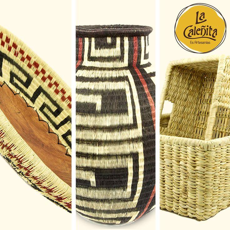 Mimbre, fique, werrégue, guacamayas son algunas referencias de nuestra cestería, que además de ser muy útiles para ordenar objetos y accesorios, ponen un toque de estilo y elegancia a los diversos entornos de tu casa. https://artesanias.lacalenita.com/categoria-producto/cesteria/?utm_content=buffer3dc30&utm_medium=social&utm_source=pinterest.com&utm_campaign=buffer💖👜😍 #ArtesaniasColombianas #ArtesaniasYDecoracion #ArtesaniasColombianasHechasAMano