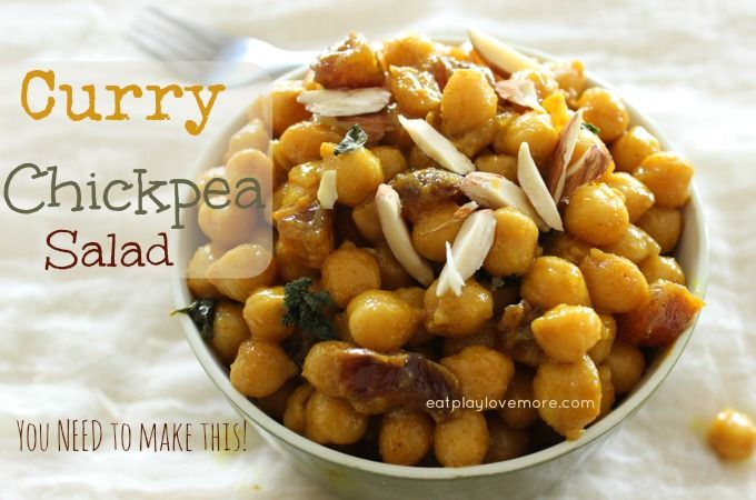 Curry Chickpea Salad - You need to make this!