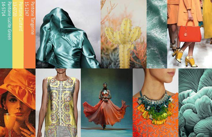 Spring 2015: Pantone's kleuren voor fashion #color #fashion #trends