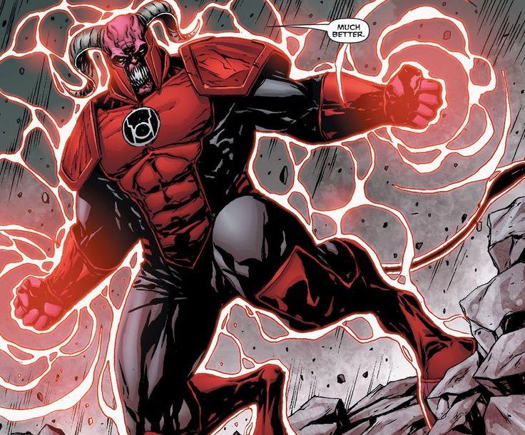 Red Lantern Corps #RedLanternCorps