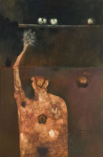 judith mason - Middle-aged Daphne, Middle-aged Eve, 1972
