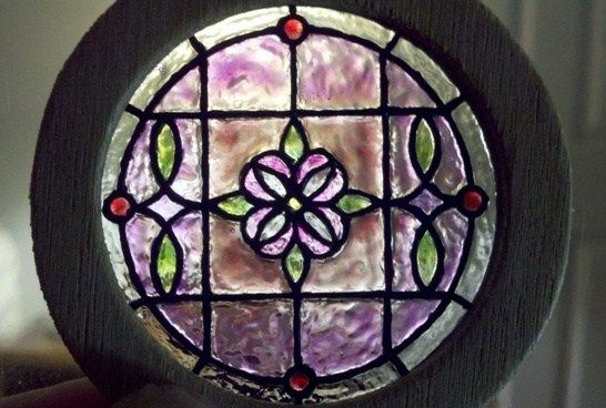 how to: stained glass window