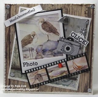 Anja Zom kaartenblog: Strandkaartjes
