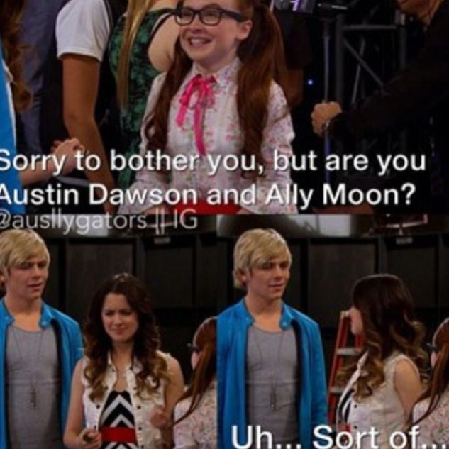 from Kamren did austin and ally start dating