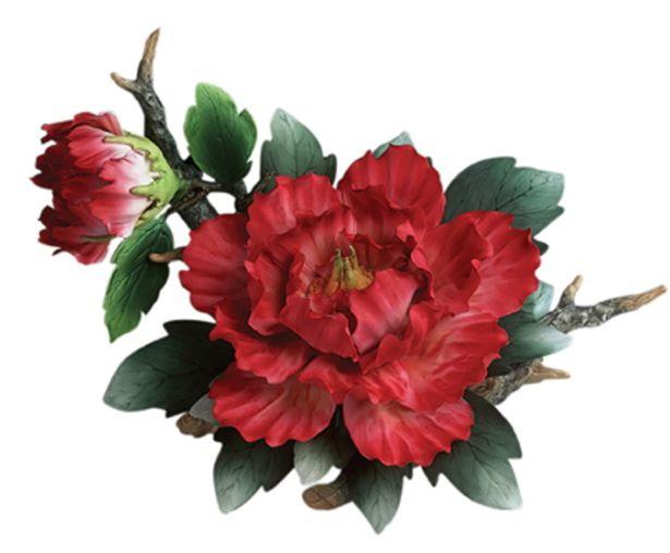 Best porcelain flower figurines images on pinterest