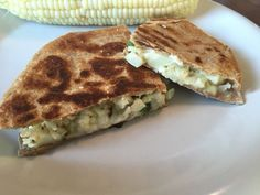 Charred Cauliflower and Poblano Chile Quesadillas Recipe. Amazingly easy and tasty quesadillas recipe that will take you less than an hour to make. Don't le...