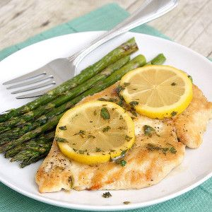 Luscious Lemon Chicken - A dinner recipe for two that's full of fresh, bright flavor!