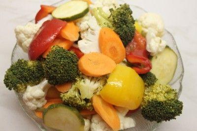 Маринованные овощи (идеально к шашлыку)