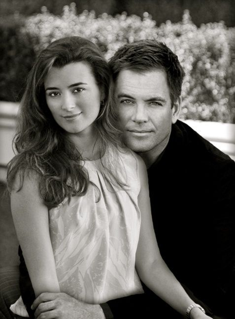 Michael Weatherly and Cote de Pablo...well they aren't really but they should be!